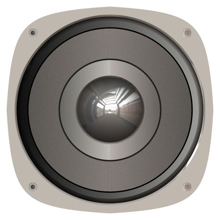 transducer: A generic home or car audio speaker.