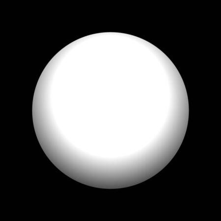 Eine schöne Perle isoliert über schwarz. Standard-Bild - 2461203
