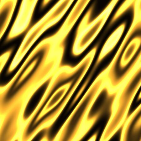 A golden flames background texture - very hot. Stock Photo
