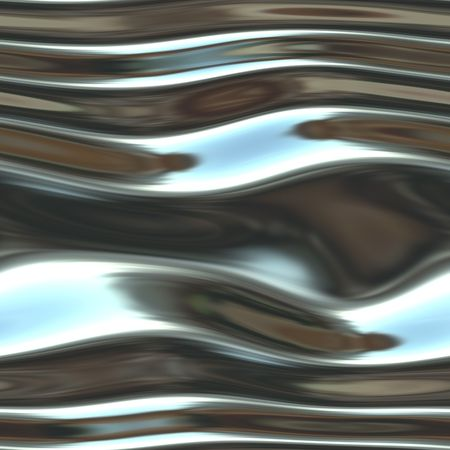A shiny, chrome background- very fluid-like and liquid looking. Stock Photo - 2626865