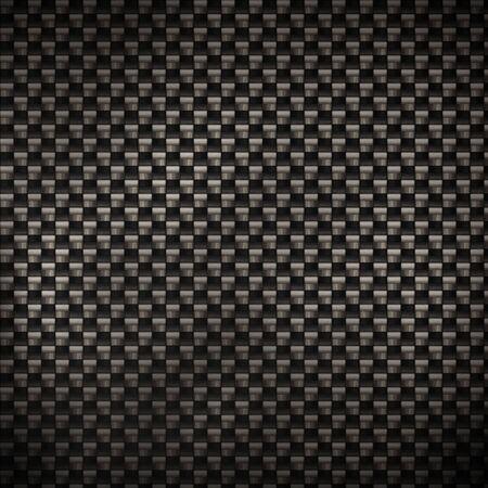 fibra de carbono: Un super-detallados antecedentes de fibra de carbono. En el 100% real fibras y filamentos de la tela de carbono son a�n visibles.