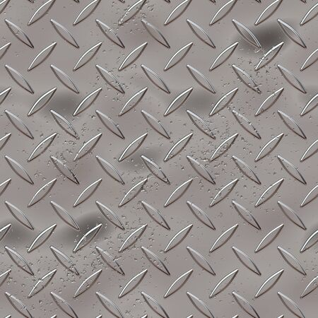 ironworks: Diamond plate metal texture - a very nice background for an industrial or contruction type look.  Fully tileable - this tiles seamlessly as a pattern.