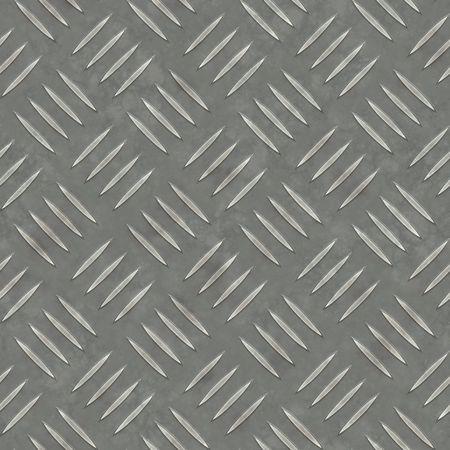Diamond plaat metaal textuur - een mooi decor voor een industriële of CONTRUCTION soort kijken. Volledig tileable - deze tegels naadloos als een patroon. Stockfoto - 2727833