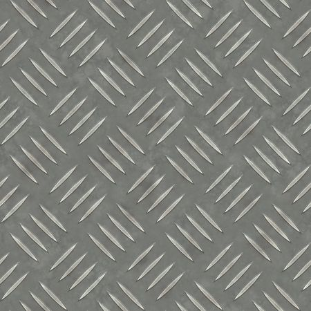 Diamond plate metal texture - a very nice background for an industrial or contruction type look.  Fully tileable - this tiles seamlessly as a pattern. photo
