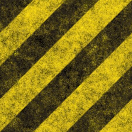 A diagonal hazard stripes texture.  These are weathered, worn and grunge-looking.  This tiles seamlessly as a pattern - fully tileable in any direction. Stock Photo - 2730061