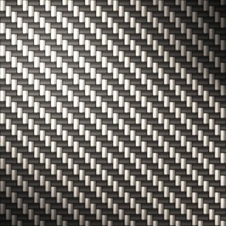 reflectivity: A tightly woven carbon fiber background texture - a great and highly-usable art element for that high-tech look you are going for in your print or web design piece.  This illustration has bright highlights to portray the reflectivity in real carbon fibe