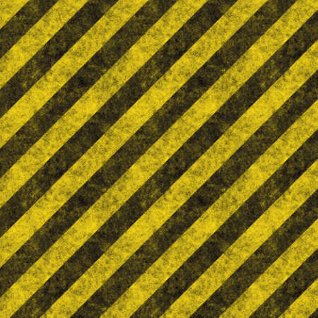 Diagonal hazard stripes texture.  These are weathered, worn and grunge-looking Stock Photo - 2834150