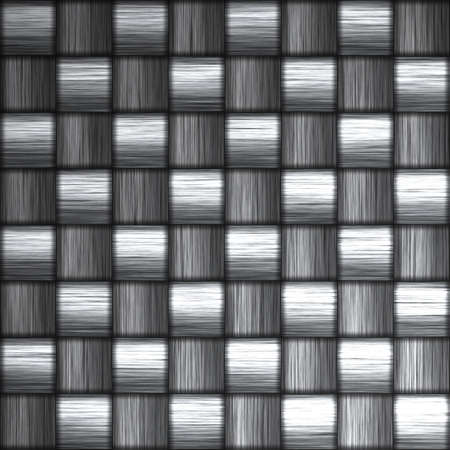 A tightly woven carbon fiber background texture - a great and highly-usable art element for that  Stock Photo - 2875537