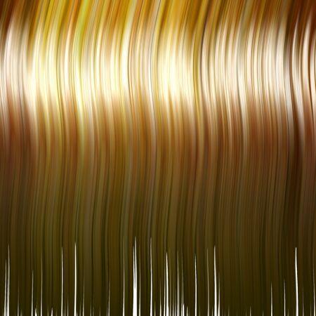 Strawberry - blondes Haar Textur. Dies ist eine sehr realistische Darstellung. Die Farbe können leicht angepasst werden, um jede Farbe oder Ton. Standard-Bild - 2910153