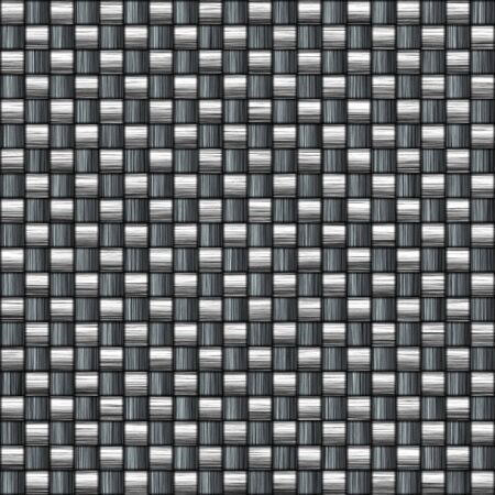 gunmetal: A tightly woven carbon fiber background texture - a great and highly-usable art element for that high-tech look you are going for in your print or web design piece.  This one tiles seamlessly as a pattern in any direction. Stock Photo