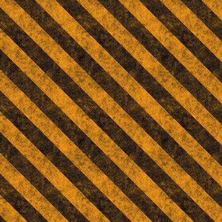 Diagonal hazard stripes texture.  These are weathered, worn and grunge-looking.   Stock Photo - 2920355