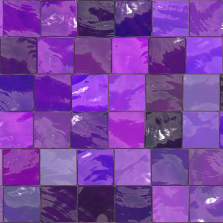 purple bathroom mosaic tiles texture Stock Photo - 2920340