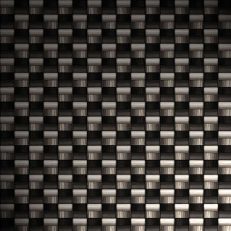 A carbon fiber background texture. A great art element for your print or web design piece.  There is a lot of detail in the fibers at 100 percent view. Stock Photo - 2940564