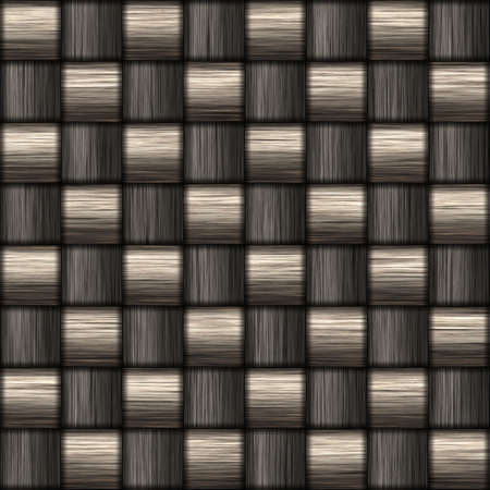 gunmetal: A tightly woven carbon fiber background texture - a great art element for that  Stock Photo