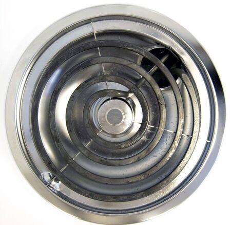 spirale: Ein einziges Buner von einem elektrischen Herd.