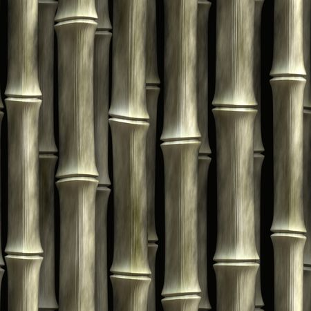 Seamless bamboo poles texture.  This tiles as a pattern in any direction.