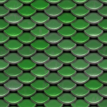 A texture that looks like the scales on a fish or reptile.  This tiles seamlessly as a pattern. photo