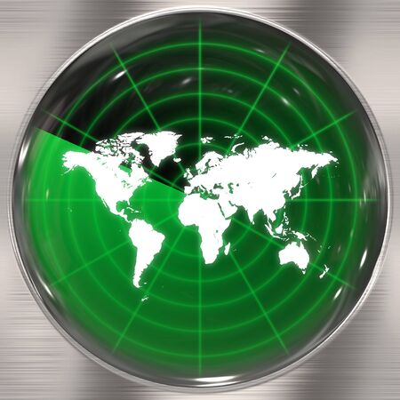 alerts: A world radar screen - blips can be added easily anywhere they are needed.  This could be used for a variety of concepts.