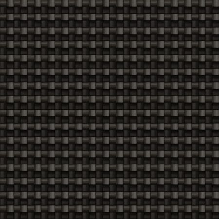 tiling: A tightly woven carbon fiber background texture - this one tiles seamlessly as a pattern in any direction Stock Photo