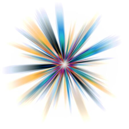 An abstract burst illustration. Very colorful - works great as a background. Stock Illustration - 3119585