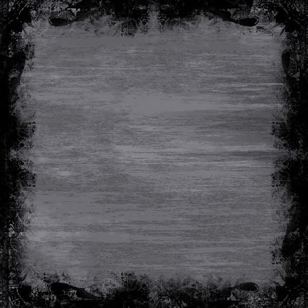 steel sheet: A metallic grunge border.  Works great as a background. Stock Photo