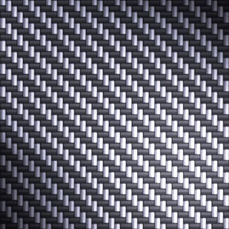 A tightly woven carbon fiber background texture - a great art element for that high-tech look you are going for.  This one has bright highlights to portray the reflectivity in real carbon fiber. Stock Photo - 3143854