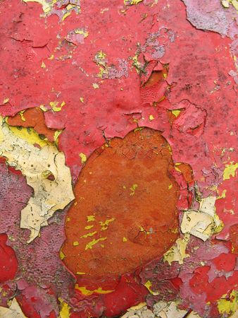 Grungy chipped paint texture - very old and weathered. Stock Photo - 3149911