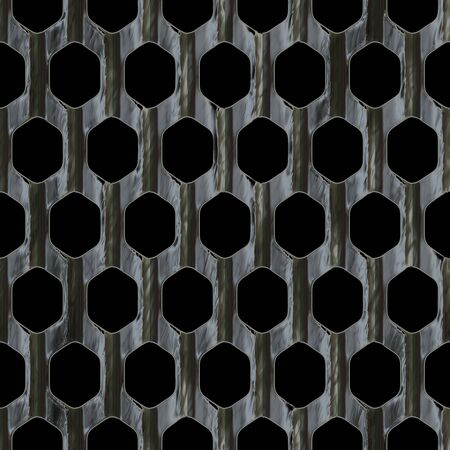 Steel wire mesh that tiles seamlessly as a pattern in any direction. Stock Photo - 3149918