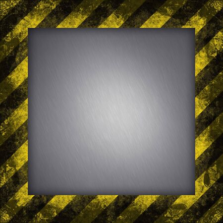 A diagonal hazard stripes texture.  These are weathered, worn and grunge-looking. Stock Photo - 3168626