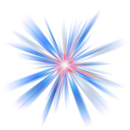 An abstract burst illustration. Very colorful - works great as a background. Stock Illustration - 3174415