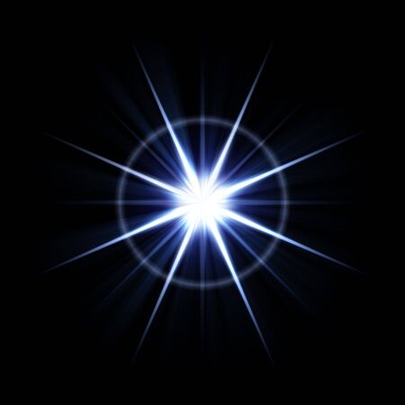 An abstract lens flare. Works great as a background. Stock Photo - 3202597
