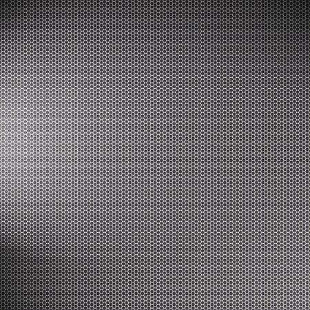 Een metalen gaas textuur met lichteffecten - very high-tech en groot als een kunst-element in een ontwerp.
