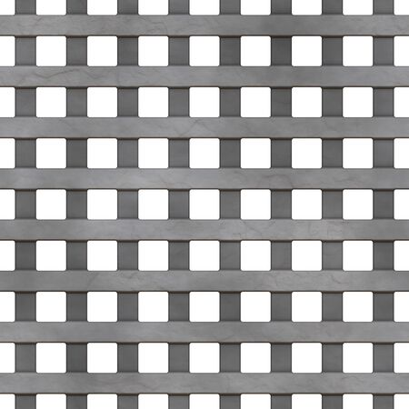 grille: A 3d illustration of a steel grate. This image tiles seamlessly as a pattern.