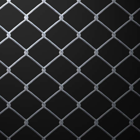 A 3D chain link fence texture that makes a great backdrop. photo