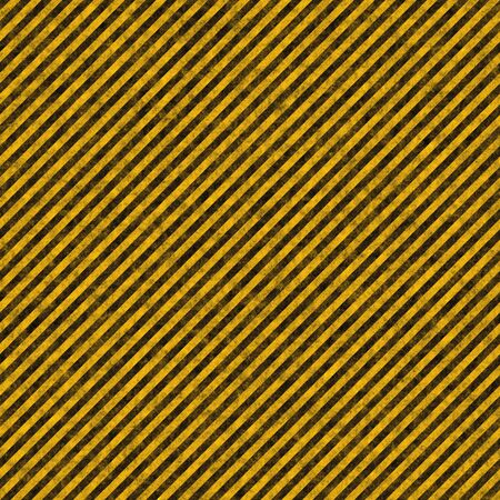 Diagonal hazard stripes texture. These are weathered, worn and grunge-looking Stock Photo - 3374121
