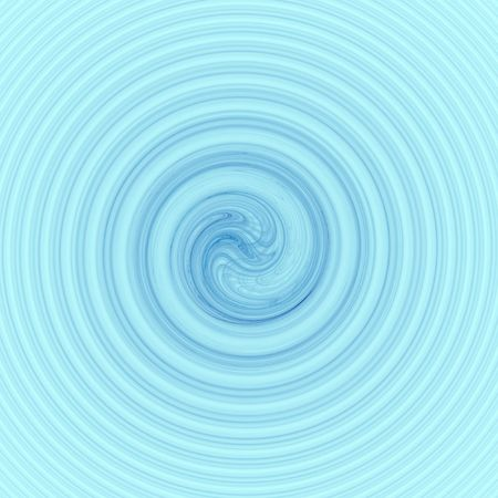 Blue water moving in a circular motion like a whirlpool.