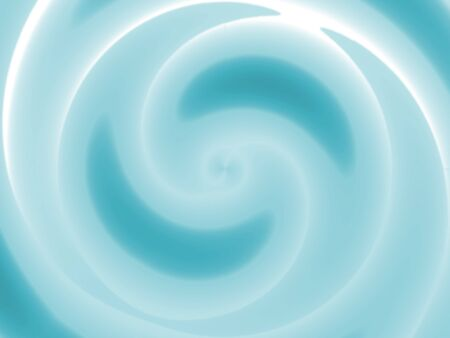 swirling: A spiraling whirlpool illustration - water swirling towards a central point. Stock Photo