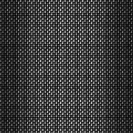fibra de carbono: Un super-detallados antecedentes de fibra de carbono. El real fibras y filamentos de la tela de carbono son a�n visibles.  Foto de archivo