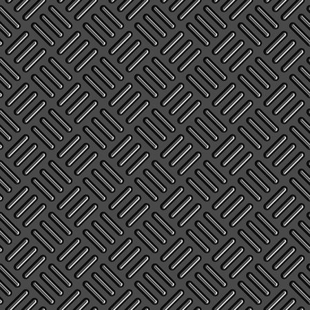 Diamond plate metal texture - a very nice background for an industrial or contruction type look. Fully tileable - this tiles seamlessly as a pattern. Stock Photo - 3451101