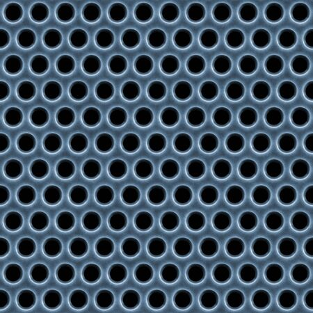 A 3d illustration of a steel grate material. This image tiles seamlessly as a pattern. Stock Illustration - 3451103