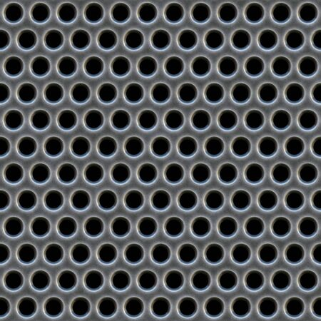 A 3d illustration of a steel grate material. This image tiles seamlessly as a pattern. Stock Illustration - 3455073