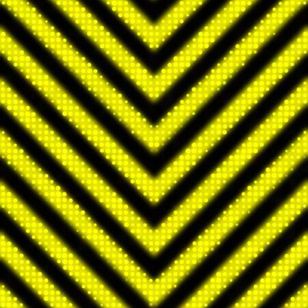A reflective hazard stripes texture as you might find on a construction sign.  Tiles seamlessly as a pattern in any direction.