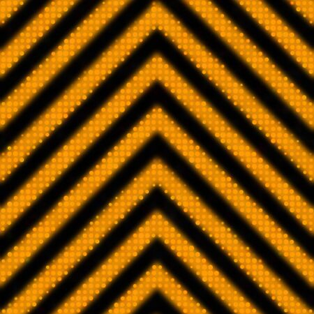 A reflective hazard stripes texture as you might find on a construction sign.  Tiles seamlessly as a pattern in any direction. photo