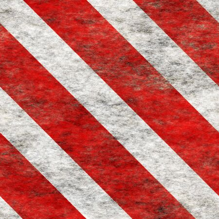 hazard: Diagonal hazard stripes texture. These are weathered, worn and grunge-looking. Stock Photo