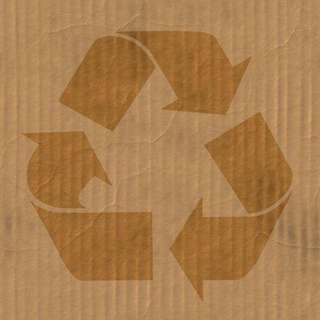 A la textura de cart�n corrugado con pliegues y arrugas en algunos puntos.  Foto de archivo - 3551688