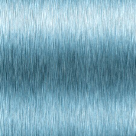 Blue brushed aluminum texture with high contrast and horizontal lighting effects. Stock Photo - 3644164