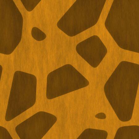 Una jirafa textura de la piel que las baldosas sin problemas en cualquier dirección. Foto de archivo - 3644153