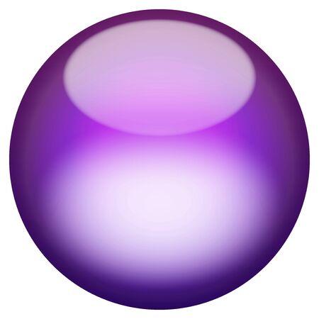 A 3d sphere isolated over white for buttons or icons - look for more colors in my portfolio. photo