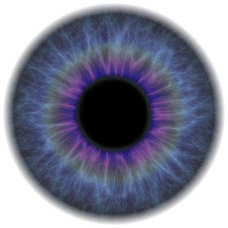 optometria: Sekcja wysoce szczegółowe tęczówki ludzkiego oka. Działa to wspaniale dla oka napraw w orientacji pionowej retuszowanie lub usuwanie efektu czerwonych oczu.