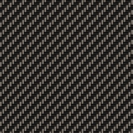 A diagonally woven carbon fiber background texture - a great and highly usable art element for that high-tech look you are going for.  Tiles seamlessly as a pattern.